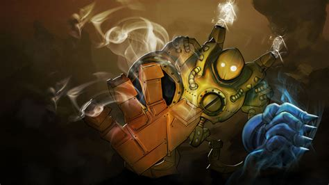 blitzcrank wallpaper hd  league  legends