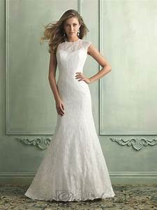 high neckline trumpet mermaid wedding dresses with keyhole With high back wedding dress
