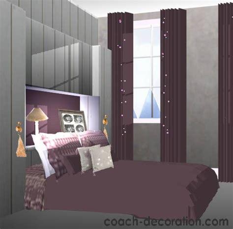 chambre prune deco chambre prune