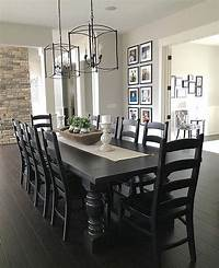 black dining room table Lover of inspired design with a vintage-modern mix. Life in our…   Home Ideas   Farmhouse dining ...