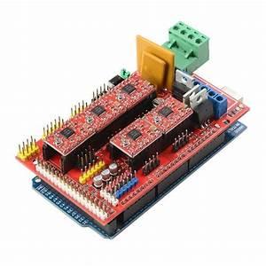 Reprap Ramps1 4 3d Printer Circuit Connection Graph