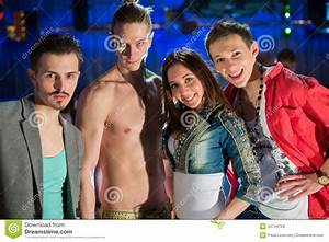 Young People Having Fun At The Party Stock Images - Image ...