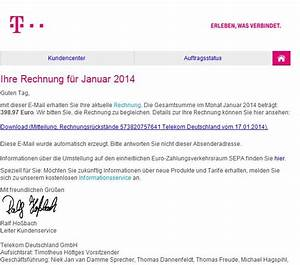 Telekom Deutschland Gmbh Rechnung : deutsche telekom wieder pishing mails ~ Themetempest.com Abrechnung