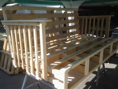 handmade daybed   pallets  storage  ftc