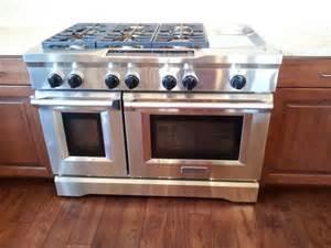 KitchenAid 6 Burner Stove