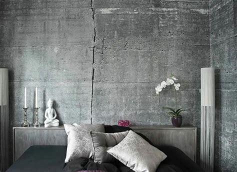 chambre a coucher surface le béton ou la griffe tendance du design contemporain