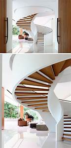 50, Uniquely, Awesome, Spiral, Staircase, Ideas, For, Your, Home
