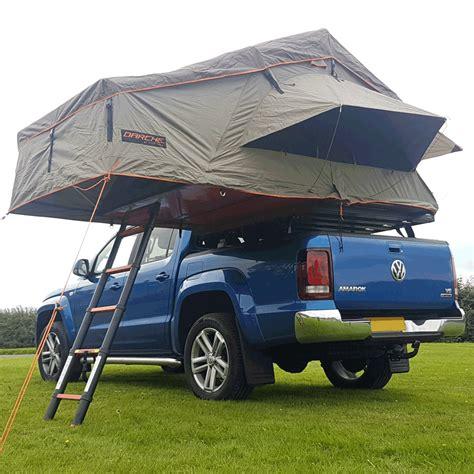 vw amarok roller slider bakkie rack  darche roof tent installation trek overland
