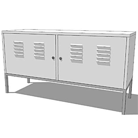 Ikea Ps Sideboard by Ikea Ps Cupboards 3d Model Formfonts 3d Models Textures