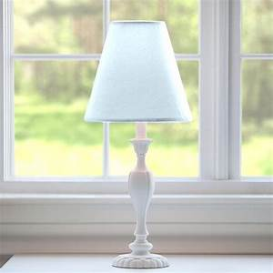 light blue linen lamp shade carousel designs With blue lamp and light shade