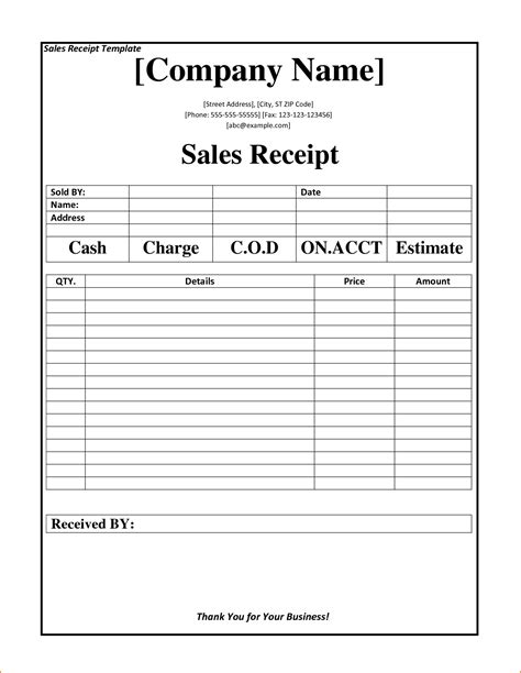 business receipt template teknoswitch