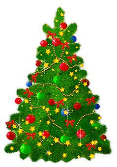 animated christmas trees christmas tree clipart
