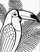 Coloring Pages Bird Parrot Tree Printable Sheet Coconut Detailed Birds Flying Colorier Dessin Coloriage Drawings Toucam Coloringpagesfortoddlers Penguin Pour Animals sketch template