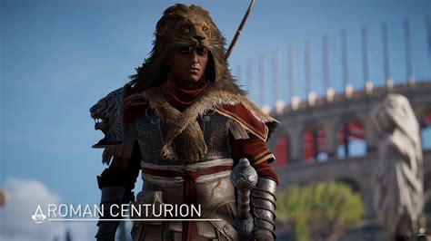 Assassinu0026#39;s Creed Origins Roman Centurion Pack DLC Showcased with New Trailer