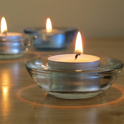 Natural Unscented Tea Light Candles By Lovely Soap Company