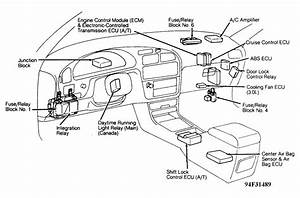2007 Toyota Camry Fuse Diagram