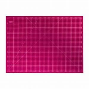 tapis de decoupe fuchsia 60x45 cm pas cher tissus price With tapis de découpe 100x150