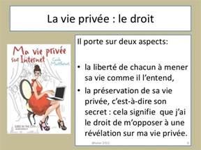 Définition Vie Privée by G 233 Rez Sa Vie Priv 233 E Et Sa S 233 Curit 233 Sur Internet