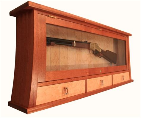 Custom Made Gun Display Case And Cabinet By Morleyfurniture