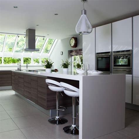 Sleek And Spacious Kitchen  Openplan Kitchen