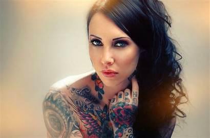 Tattooed Tattoo Tattoos Inked Woman Tattoed Tatoo