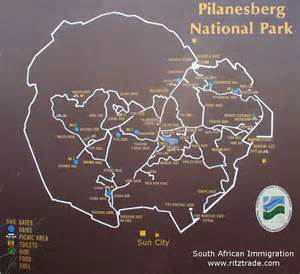 Pilanesberg National Park Map