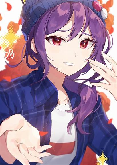 Anime Pixiv Seta Kaoru Zerochan Kawaii Boy
