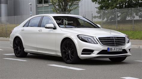 mercedes benz  class test mule spotted