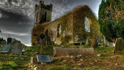 Irish Backgrounds Graveyard Ireland Desktop Wallpapers Ancient