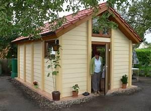 Kleines Holzhaus Bauen : exklusives gartenhaus solides kleines holzhaus blockhaus mit satteldach ~ Sanjose-hotels-ca.com Haus und Dekorationen
