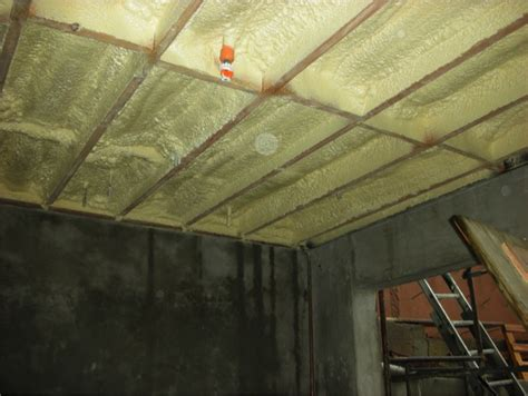 Insulating Ceiling Panels by Floor Above Garage Building America Solution Center