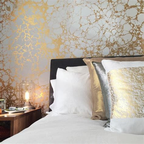 ways  enhance  room  designer wallpaper