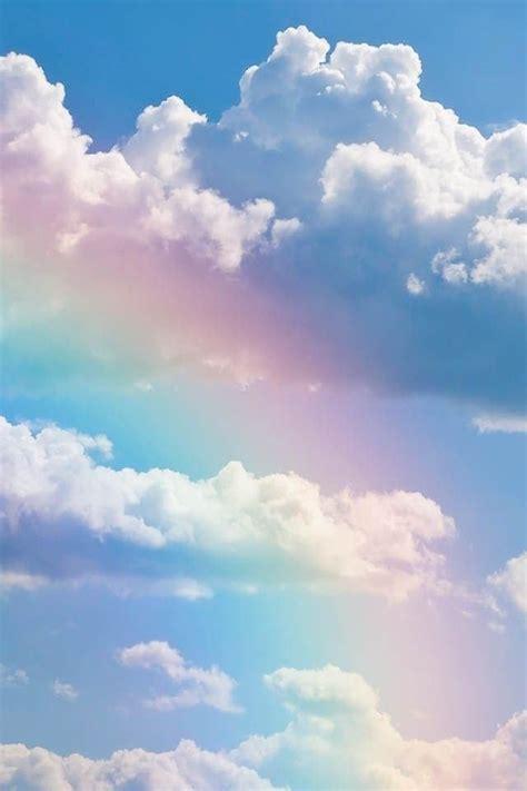 rainbow beautiful sky cloud creative natural