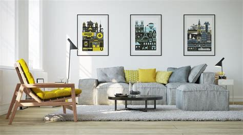 25 Gorgeous Yellow Accent Living Rooms by 25 Gorgeous Yellow Accent Living Rooms Living Room
