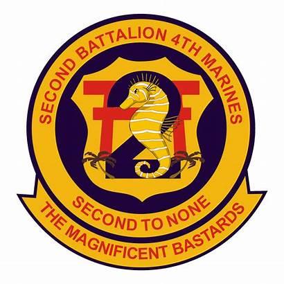Battalion Marines 4th 2nd Insignia Marine Regiment