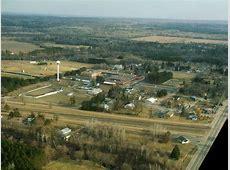 Pillager, MN Aerial Photo of Pillager, Minnesota photo