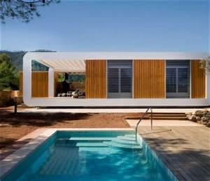Maison Préfabriquée En Bois : exemples de maisons avec un bardage en bois ~ Premium-room.com Idées de Décoration