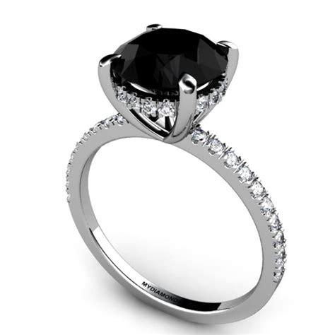 black diamond engagement ring google search rings