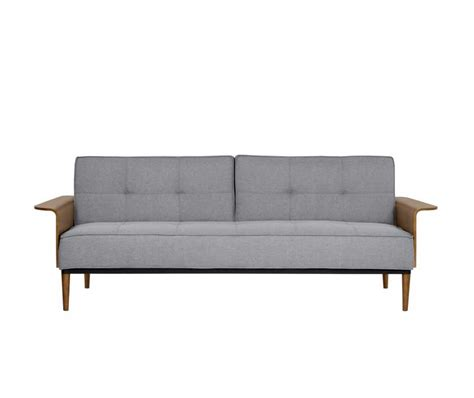 fabric futon sofa bed mid century gray futon sofa bed arl mona fabric sofas