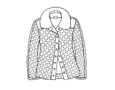 Dibujo de Una chaqueta para Colorear Dibujos net