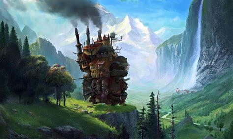 le chateau ambulant fond decran hd arriere plan