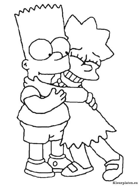 De Simpsons Kleurplaten by Simpsons Kleurplaten Kleurplaten Eu