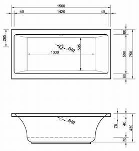 Kleine Waschmaschine Maße : kleine badewanne 150 x 75 x 43 cm badewanne badewanne rechteck rechteckwanne 150 ~ Markanthonyermac.com Haus und Dekorationen