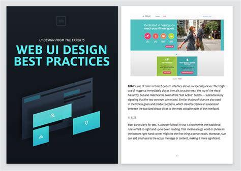 web ui design best practices free ebook