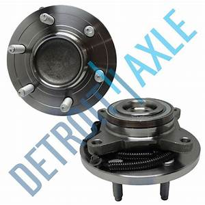 2  New Front Wheel Hub And Bearing Assembly For 2009 Abs