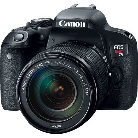 Canon Eos Rebel T7i Dslr Camera With 18135mm Lens