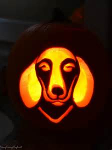 Dachshund Pumpkin Template by How To Get Free Dog Pumpkin Carving Templates Savvy