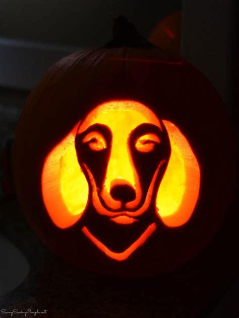 puppy pumpkin carving how to get free dog pumpkin carving templates savvy saving couple