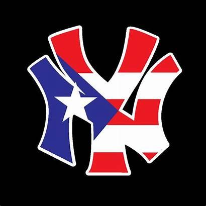 Puerto Rico Flag York Ny Decal Sticker