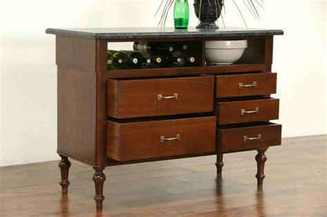 granite top kitchen island table sold granite top walnut 1910 antique counter kitchen